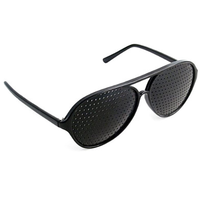Rasterbrille - Lochbrille für Augen-Training - Geheimshop.de