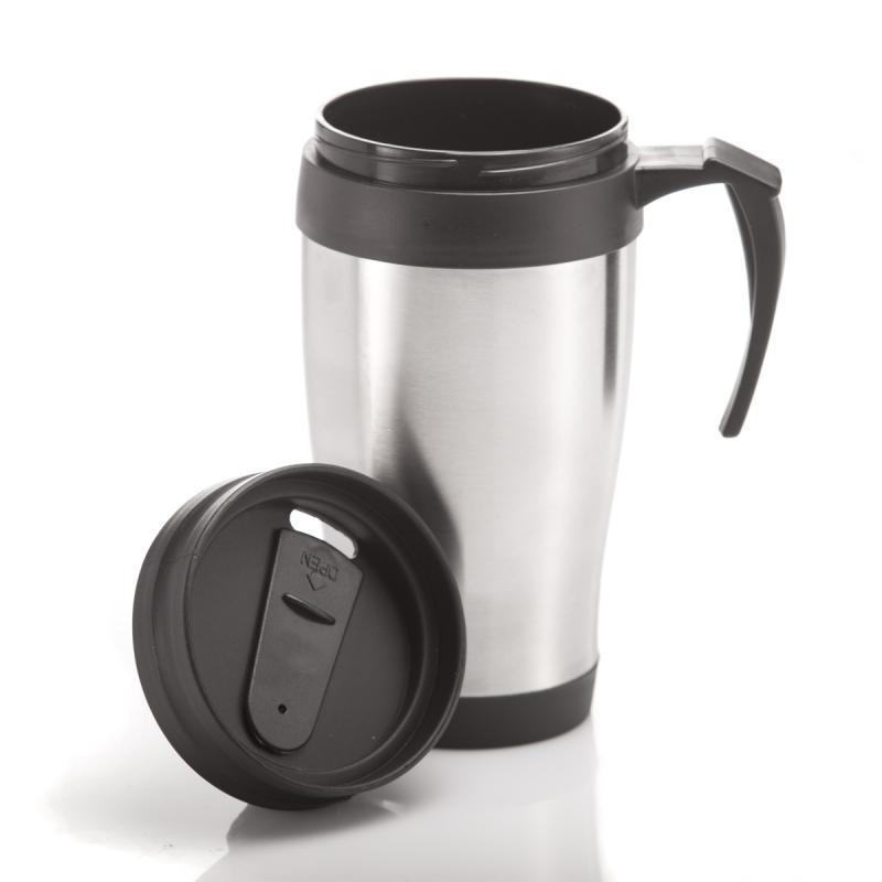 Coffee to Go Becher aus Edelstahl