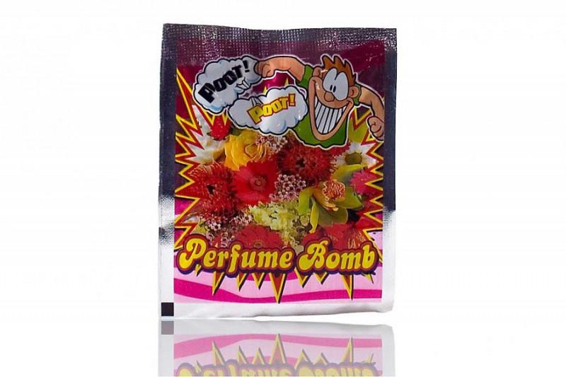 Perfümbombe Stinkbombe mit Blumenduft