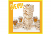 Trinkspiel Jenga-Stil: Drinking Tower – Super Party Saufspiel