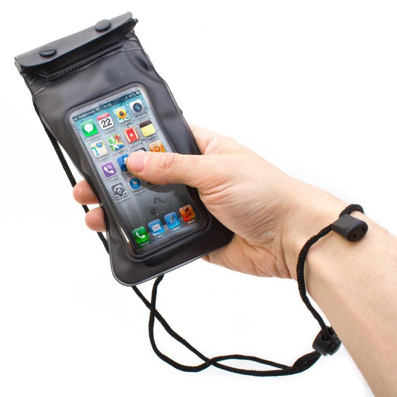 Wasserfeste Schuthülle für Smartphones