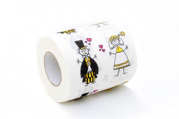 Hochzeit Toilettenpapier Just Married Klopapier