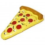 Aufblasbare Matratze Pizza Luftmatratze Pizzastück 180x140cm
