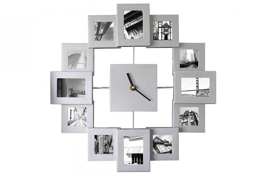 fotouhr bilderrahmen uhr. Black Bedroom Furniture Sets. Home Design Ideas
