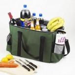 Kühltasche XXL - Große Isotasche für Picknick & Unterwegs 45 L