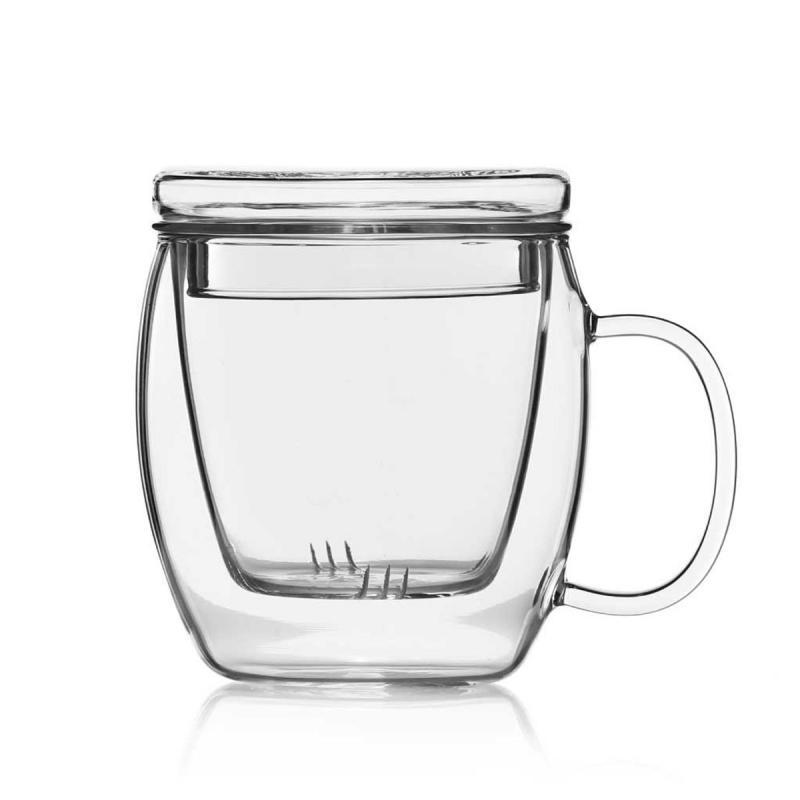 Teebereiter aus Glas