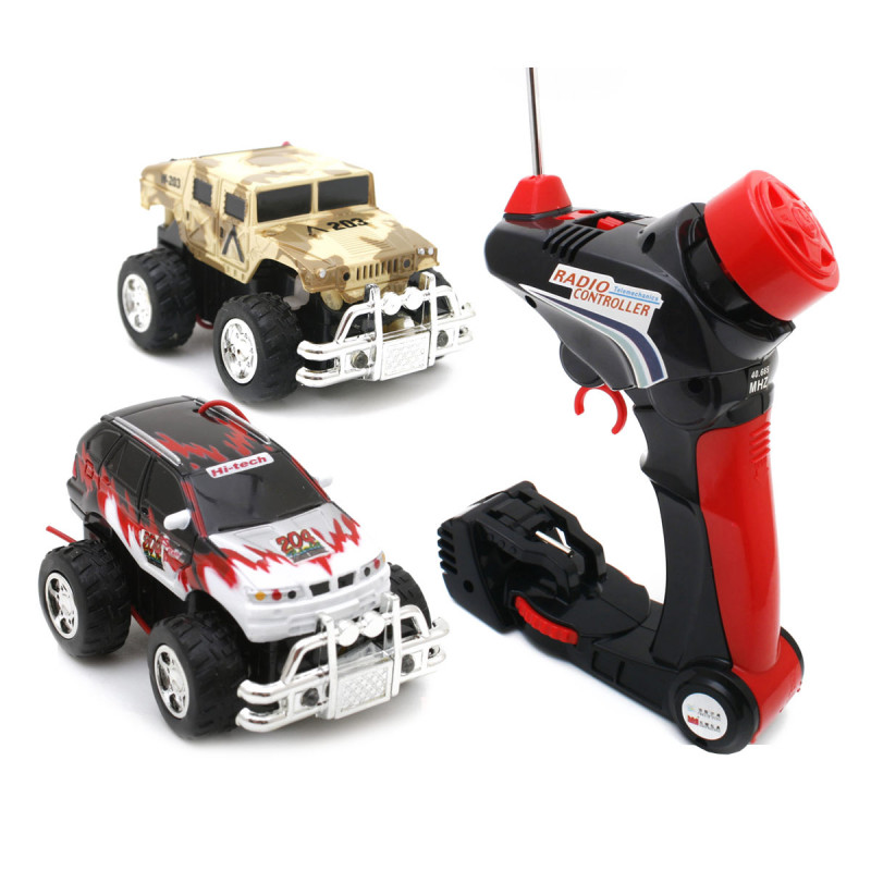 Mini RC Car Monster Truck Micro R/C Hummer