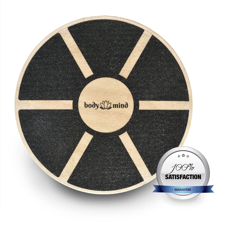 balance board deluxe therapykreisel aus holz von body mind. Black Bedroom Furniture Sets. Home Design Ideas
