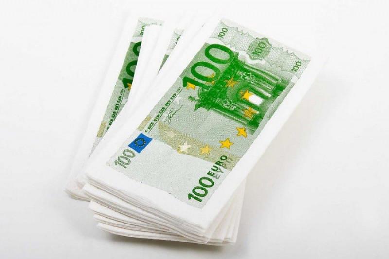 Geldschein Taschentücher