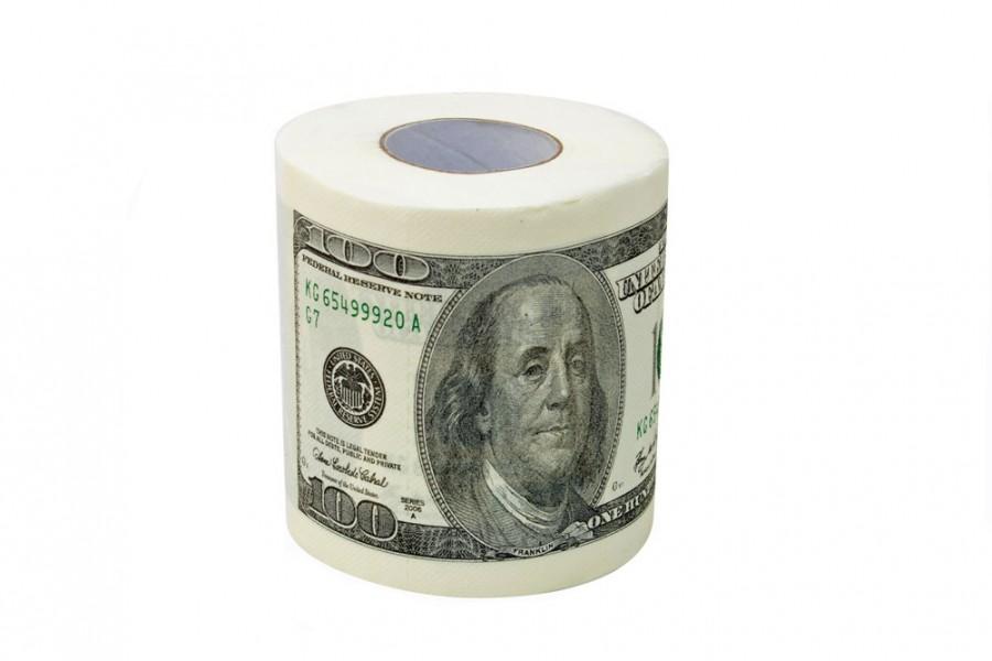 Dollar Klopapier $100 Toilettenpapier » günstig kaufen!