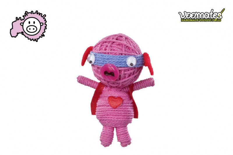 Voomates Super Piggy Voodoopuppe