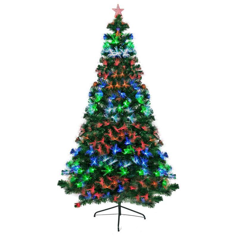 Künstlicher Christbaum mit LED Beleuchtung