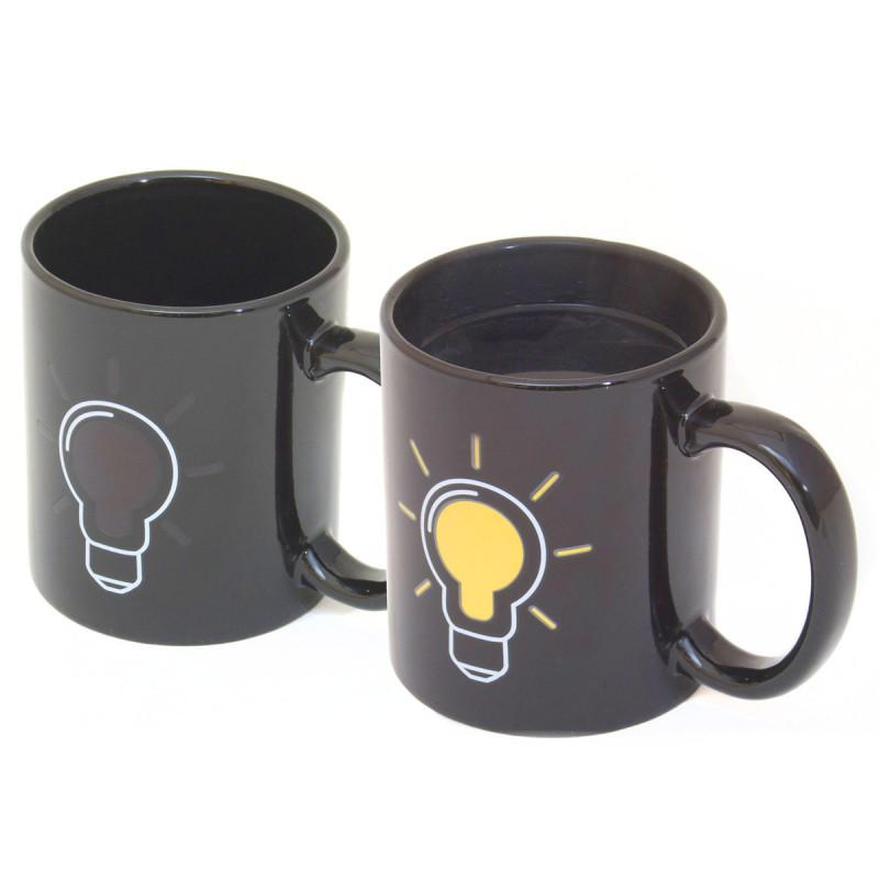 Farbwechsel Tasse Glühbirne
