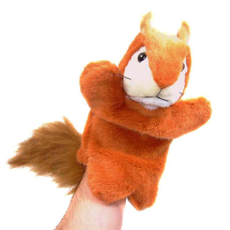 Handspielpuppe Eichhörnchen