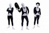 Smoking Morph Spandex Lycra Anzug Tuxedo Suit