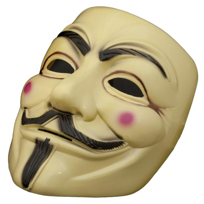 V wie Vendetta Maske Beige