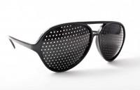 Lochbrille Rasterbrille für Augen-Training ohne Mühe