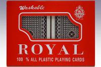 Plastik Pokerkarten 2 Decks - 2er Set Kunststoff Spielkarten