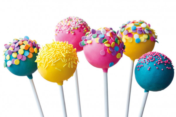 Cake Pops Silikon Backform Kuchen Lollies Backset