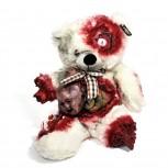 Horror Teddy - Zombie Teddybär aus Plüsch - Alien
