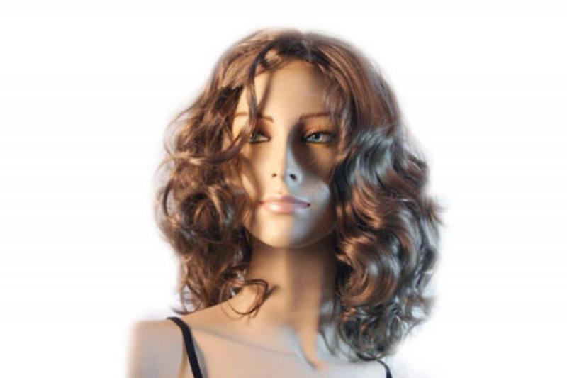 Curly Hair Style Lockenperücke