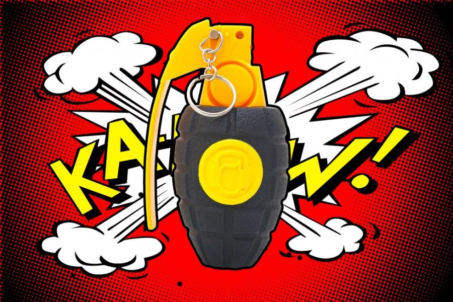 Sonic Grenade Schallgranate Lärm Wecker