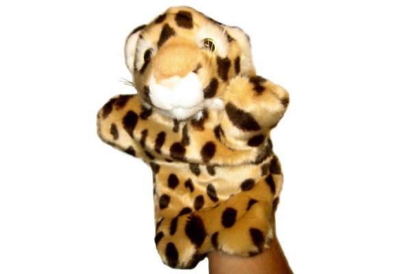 Handpuppe – Süße Handspielpuppe Leopard