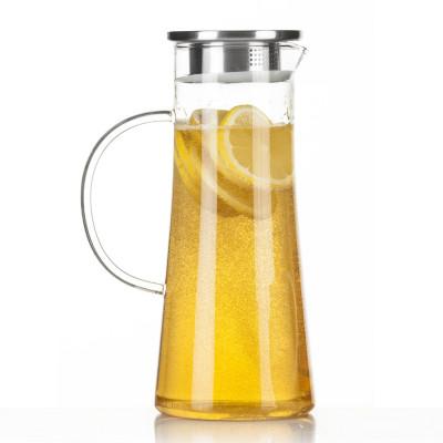Wasserkrug mit Filter-Deckel aus Edelstahl von Dimono