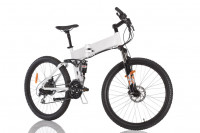 Elektrofahrrad e-Bike - Full-Suspension Mountainbike Pedelec
