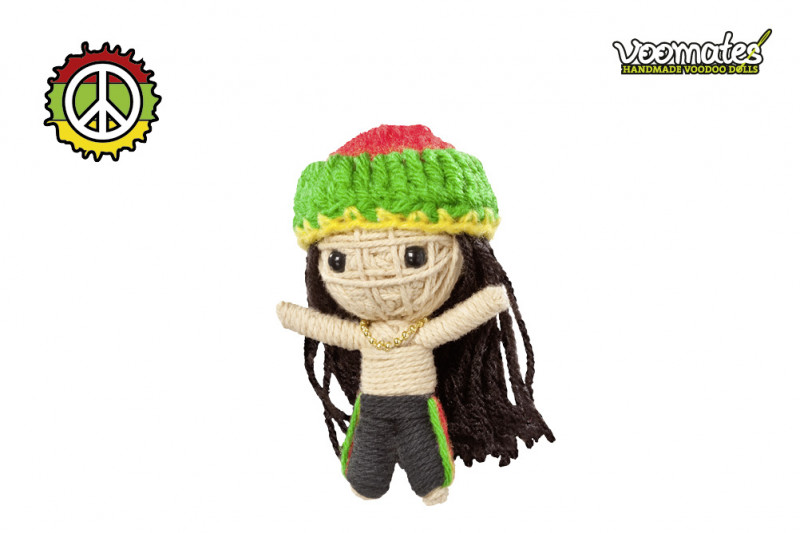 Voomates Rastafari Bob Voodoopuppe