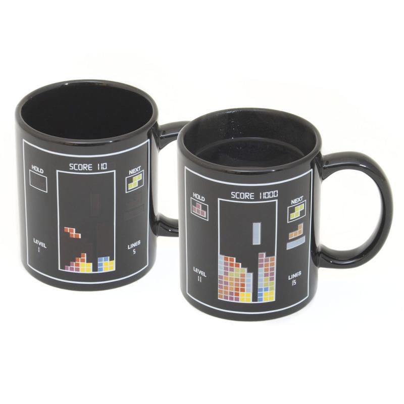 Tetris Tasse mit Wärmeeffekt
