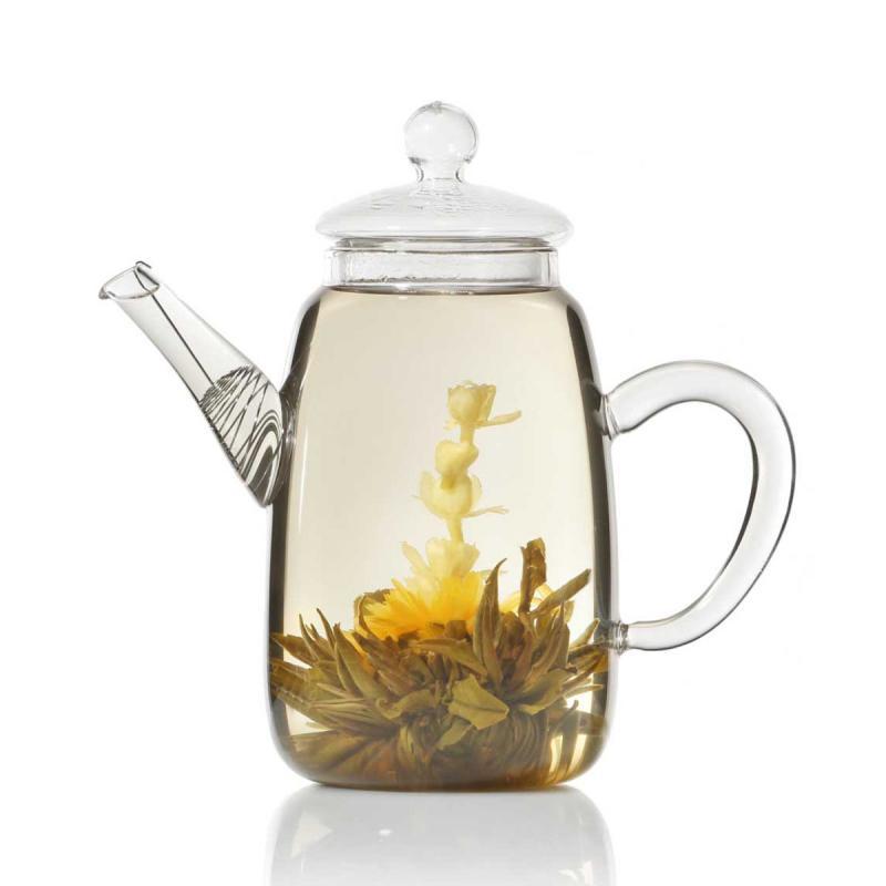 Teekanne für Teeblumen