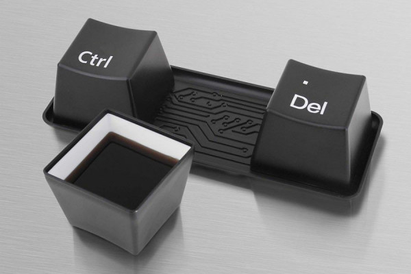 Tastatur CTRL ALT DEL Keyboard Tassen