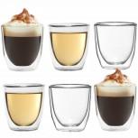 6er Set - Doppelwandiges Espressoglas von Dimono